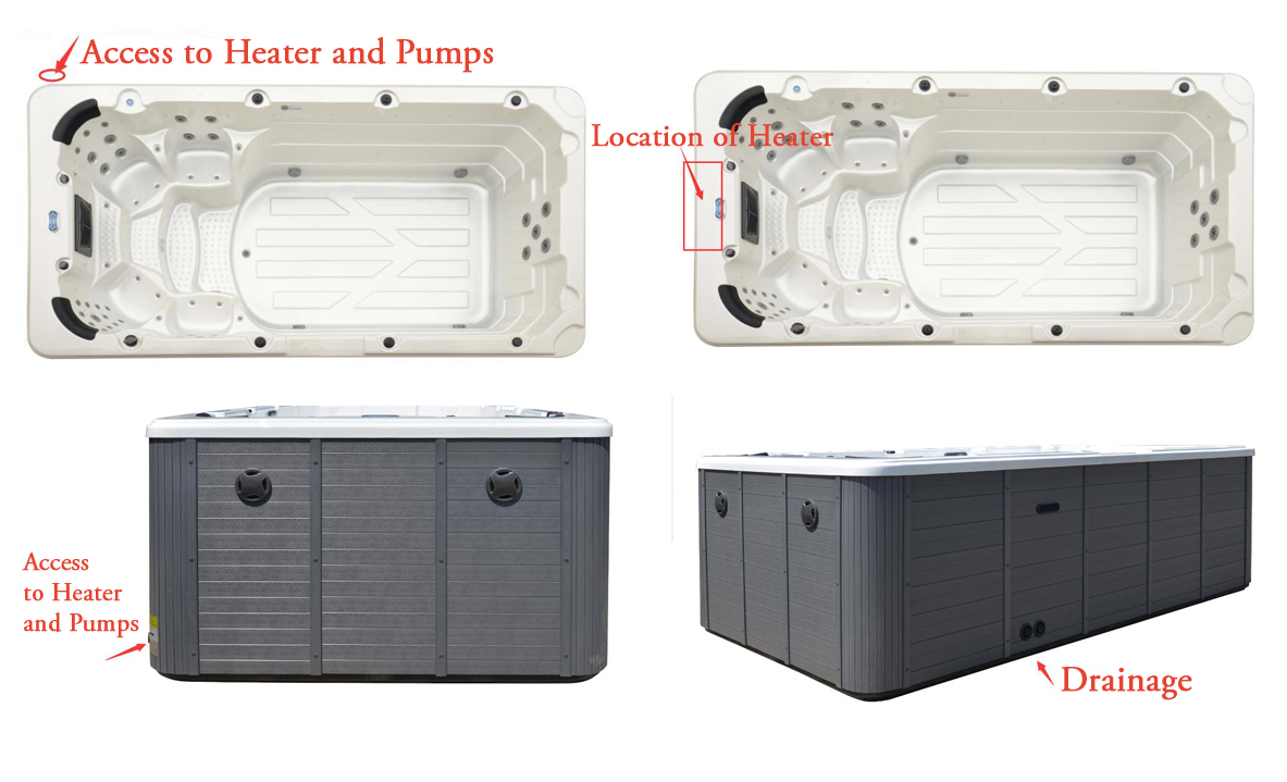Romeo Heater and Pump Access