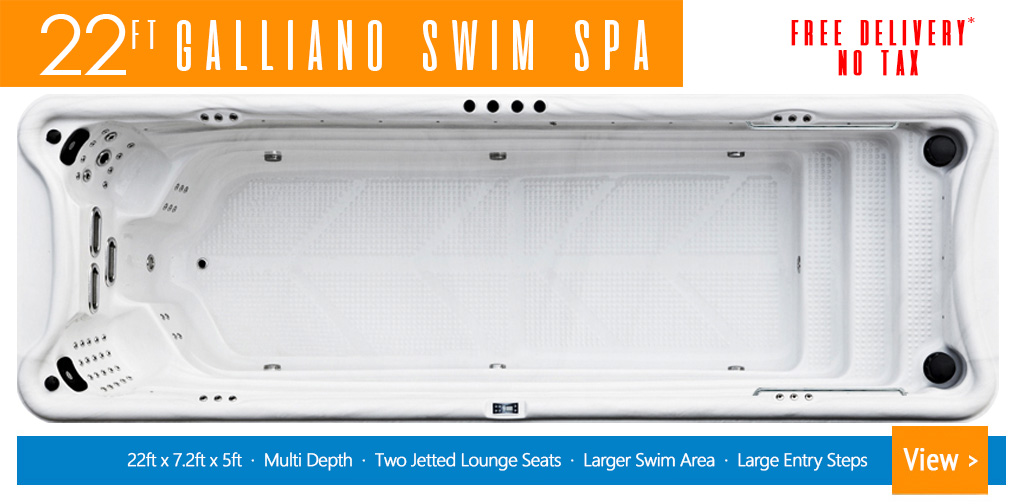 22ft Galliano Swim Spa